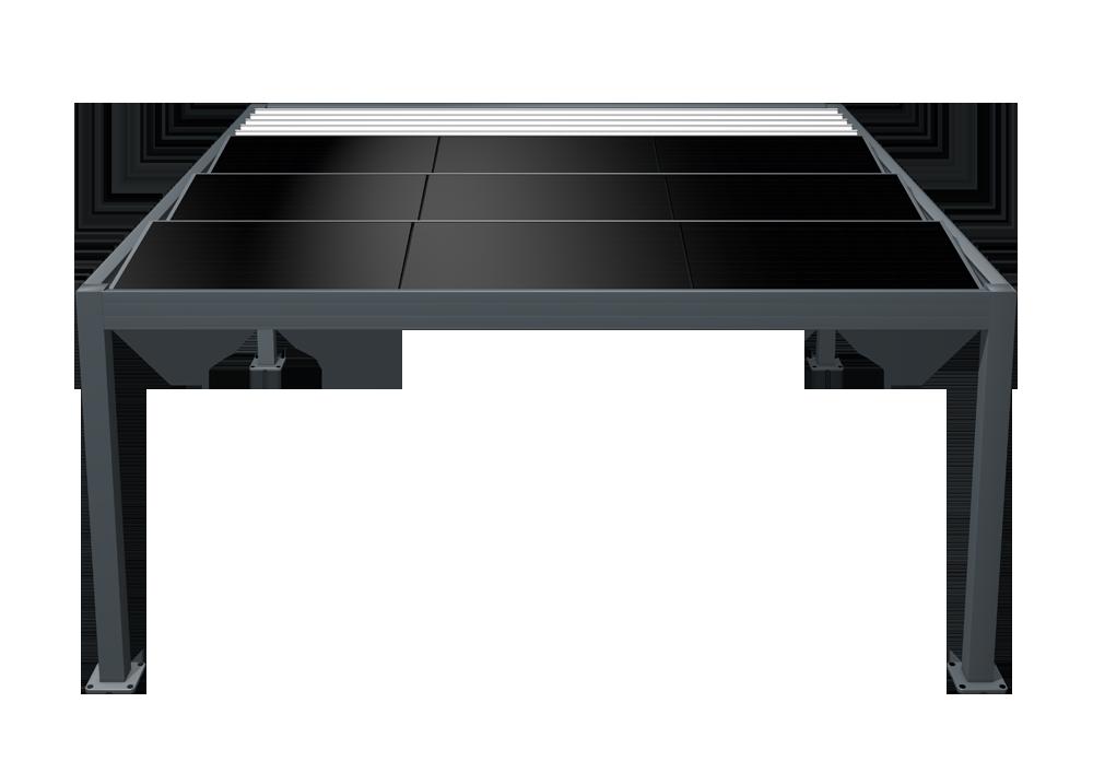 pergola solaire photovoltaïque